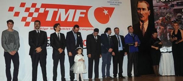 Türkiye Motosiklet Federasyonu Ödül Töreni Yapıldı