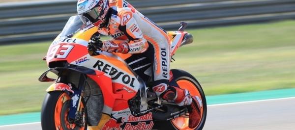 Aragon GP'de Marquez Kazandı