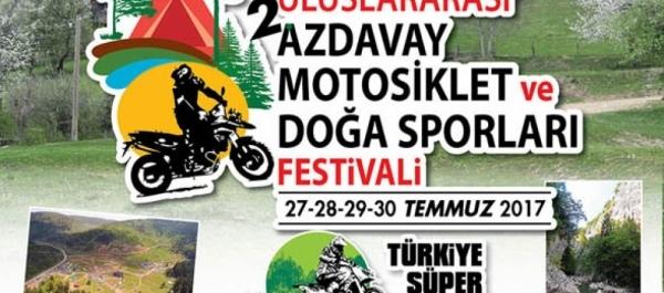 2. Uluslararası Motosiklet ve Doğa Sporları Festivali 27-30 Temmuz 2017