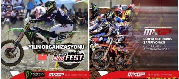 Dünya Motokros Şampiyonası'nın (MXGP) 17'nci ayağı, Afyonkarahisar Motor Sporları Merkezi'nde Tamamlandı