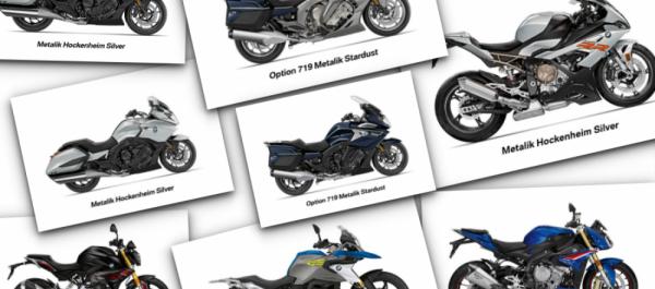 BMW Motorrad'ın Renk Yelpazesi Yenilendi