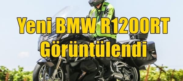 Yeni BMW R1200 RT Görüntülendi