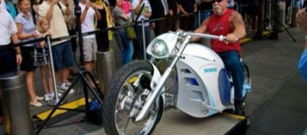 Dünyanın İlk Elektrikli 'Chopper'ı