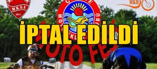 1.Çeşme Motosiklet Festivali 13-16 Eylül 2018