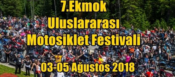 7.Ekmok Uluslararası Motosiklet Festivali