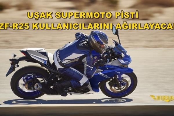 UŞAK SUPERMOTO PİSTİ YZF-R25 KULLANICILARINI AĞIRLAYACAK!