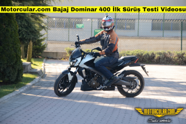 Bajaj Dominar 400 İlk Sürüş Testi Videosu