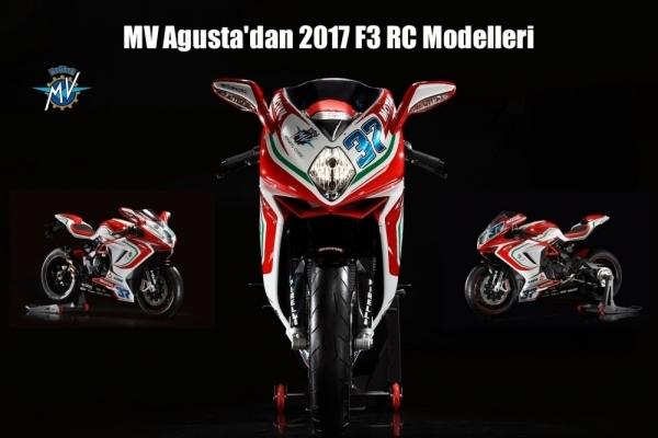 MV Agusta'dan 2017 F3 RC Modelleri
