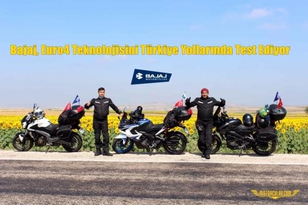 Bajaj, Euro4 Teknolojisini Türkiye Yollarında Test Ediyor
