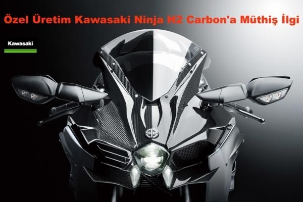 Özel Üretim Kawasaki Ninja H2 Carbon'a Müthiş İlgi