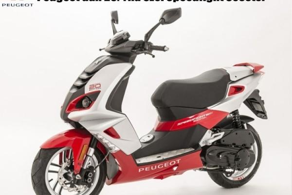 Peugeot'dan 20. Yıla Özel Speedfight Scooter