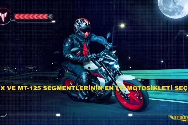 Tmax ve MT-125 Segmentlerinin En İyi Motosikleti Seçildi