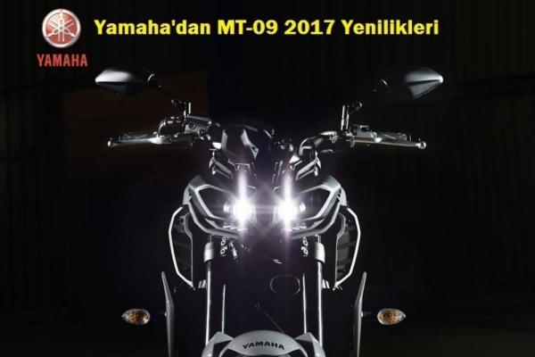 Yamaha'dan MT-09 2017 Yenilikleri