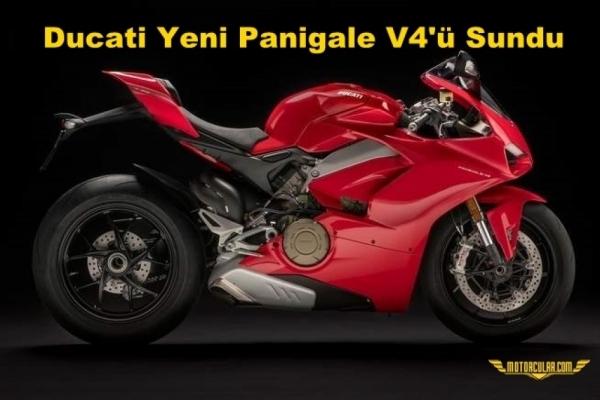 Ducati Yeni Panigale V4'ü Sundu