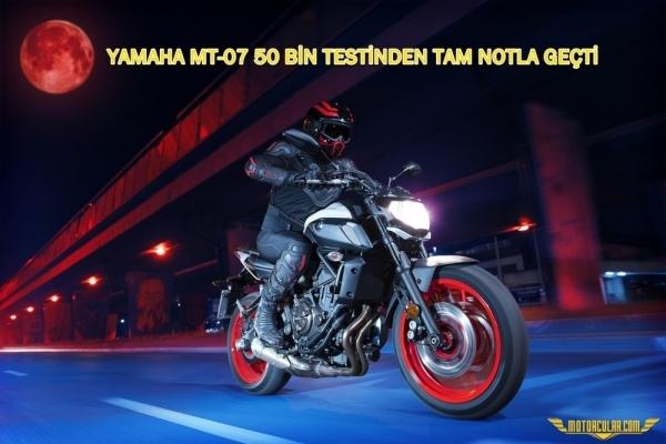 Yamaha Mt-07 Motorrad Dergisinin 50 Bin Testinden Tam Notla Geçti