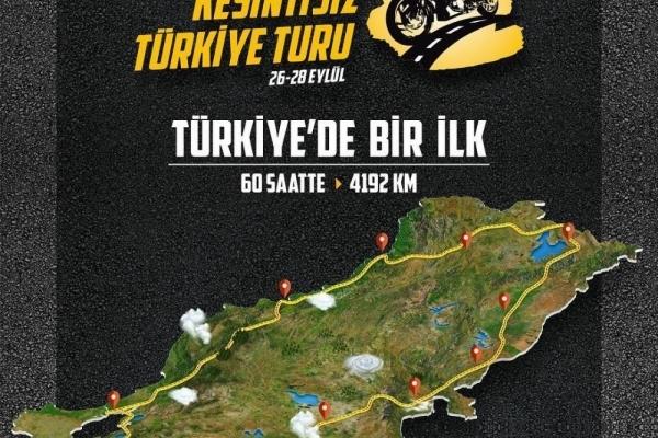 Dominar 400 Kesintisiz Türkiye Turu