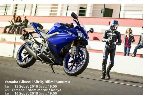 Yamaha Güvenli Sürüş Bilimi Sunumu - Konya