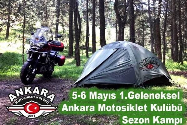Ankara Motosiklet Kulübü Sezon Kampı 5-6 Mayıs 2018