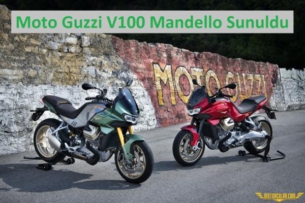 Moto Guzzi V100 Mandello Sunuldu