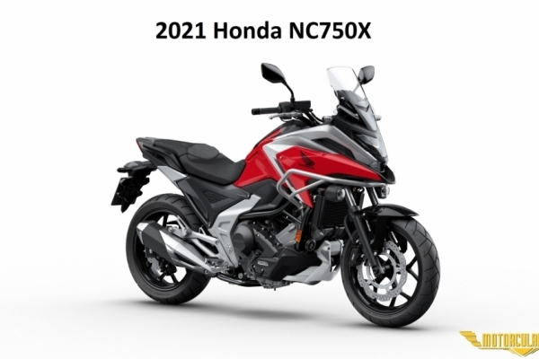 2021 Honda NC750X Yenilendi