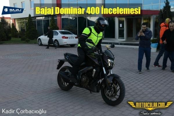 Bajaj Dominar 400 İncelemesi