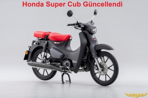 Honda Super Cub C125 Güncellendi