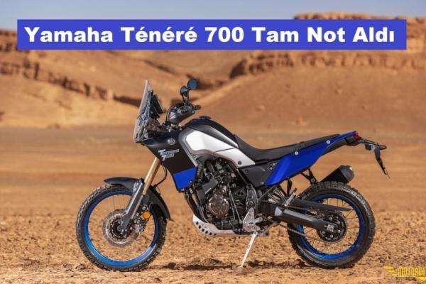 Yamaha Tenere 700 Motorrad Dergisi'nden Tam Not Aldı
