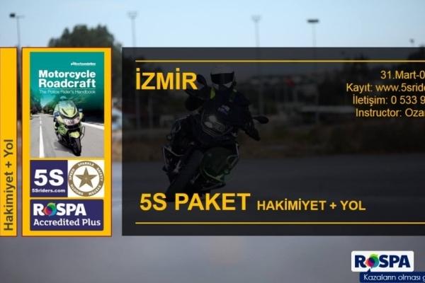 5S Paket İzmir 31 Mart-1 Nisan 2018
