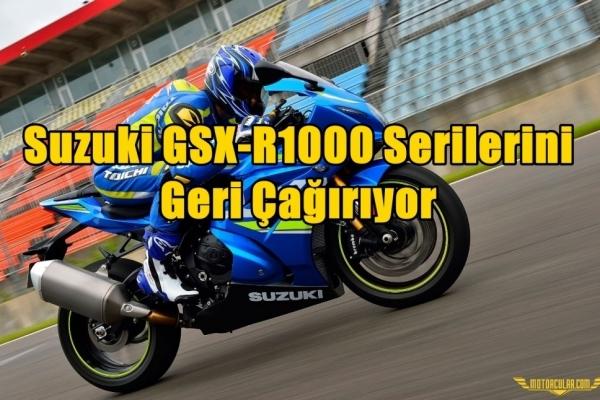 Suzuki GSX-R1000 Serilerini Geri Çağırıyor