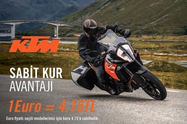 KTM'den Sabit Kur Avantajı