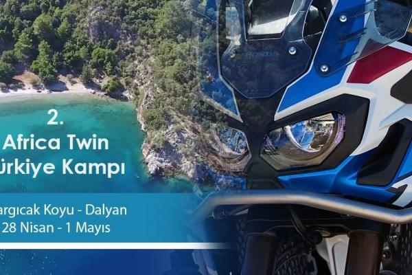 2.Africa Twin Türkiye Kampı 28 Nisan -1 Mayıs 2018