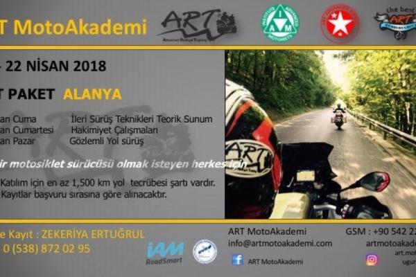ART Paket Alanya 20-22 Nisan 2018
