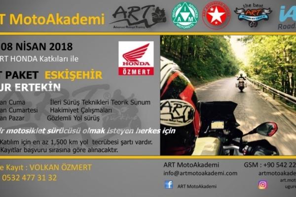 ART Paket Eskişehir 06-08 Nisan 2018