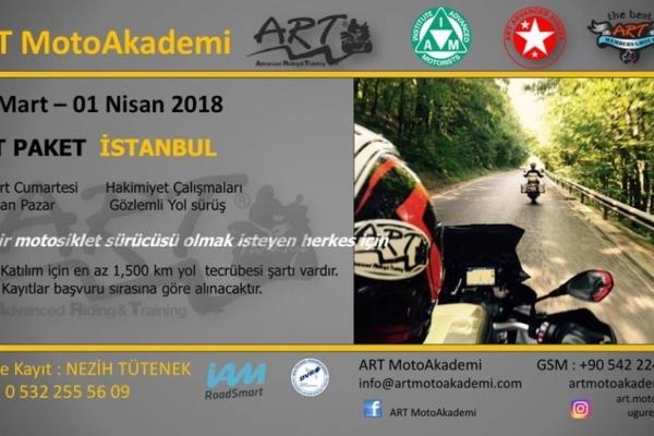 ART Paket İstanbul 31 Mart - 01 Nisan 2018