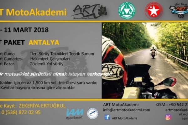 ART Paket Antalya 09-11 Mart 2018