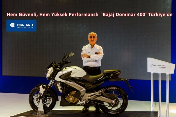 Hem Güvenli, Hem Yüksek Performanslı  'Bajaj Dominar 400' Türkiye'de