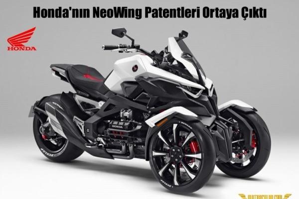 Honda'nın NeoWing Patentleri Ortaya Çıktı