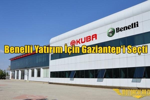 Benelli Yatırım İçin Gaziantep'i Seçti