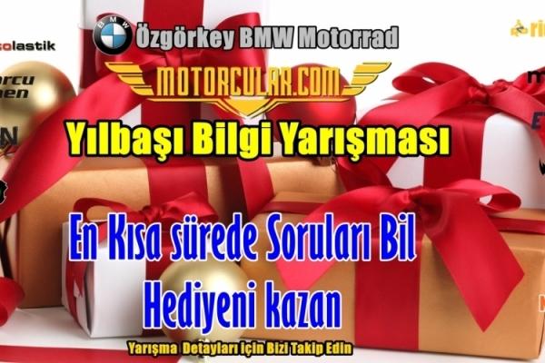 Motorcular.com Yılbaşı Bilgi Yarışması