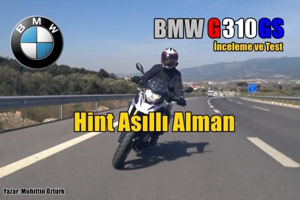 Hint Asıllı Alman: BMW G310GS