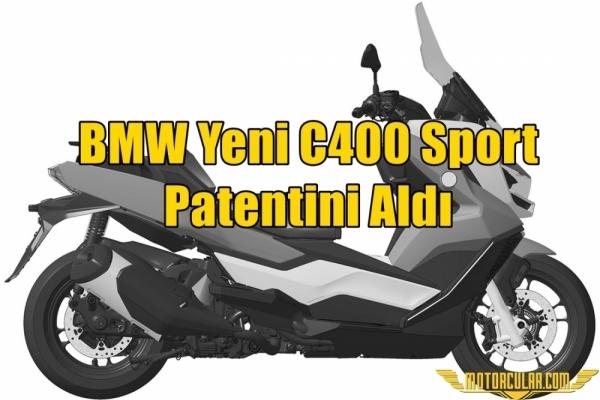 BMW Yeni C400 Sport Patentini Aldı