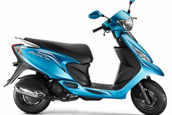 2016 TVS Scooty Zest 110