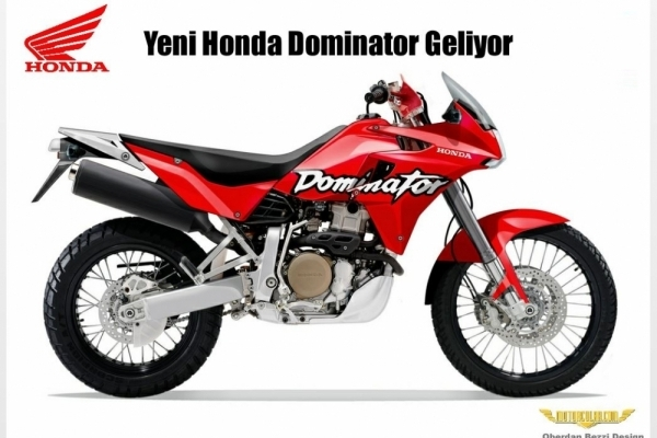 Yeni Honda Dominator Geliyor