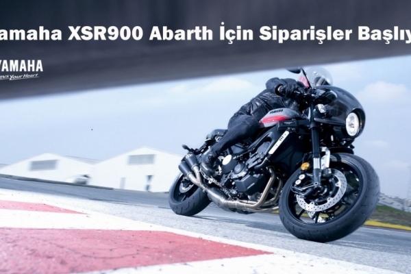 Yamaha XSR900 Abarth İçin Siparişler Başlıyor