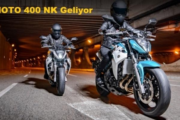 CF MOTO 400 NK Geliyor