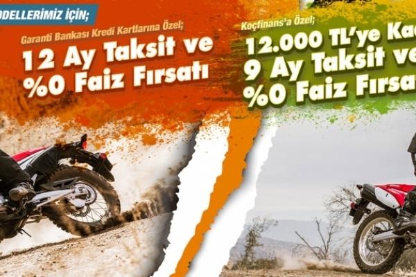 CRF250 RALLY ve CRF250L'ye Özel Ekim Kampanyası