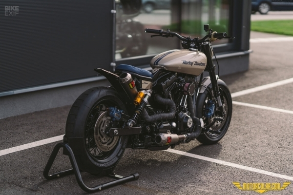 Custom Harley Davidson Eleanor