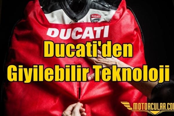 Ducati'den Giyilebilir Teknoloji