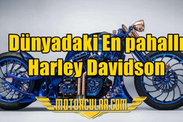 Dünyadaki En Pahallı Harley Davidson