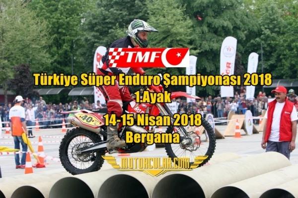 Türkiye Süper Enduro Şampiyonası 2018 1.Ayak